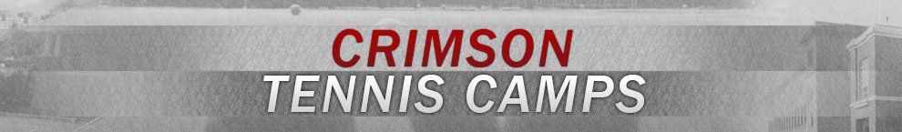 Crimson Tennis Camps